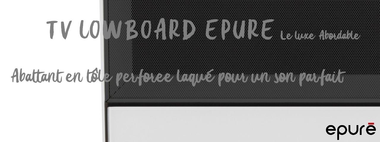 TV Lowboard Epure Sound