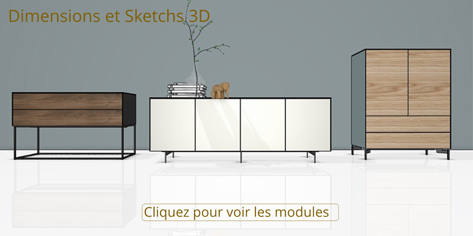 les modules sonorous sideboard